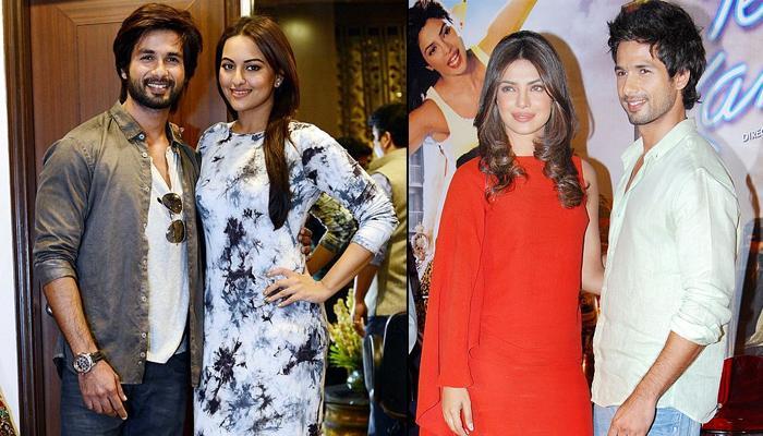 Shahid Kapoor Finally Confirms He Was Dating Priyanka Chopra And Sonakshi Sinha On Koffee With Karan