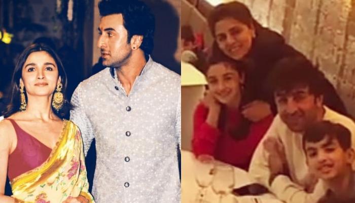 Alia Bhatt Goes On A Date Night With Boyfriend, Ranbir Kapoor, His Mother, Neetu Kapoor And Family
