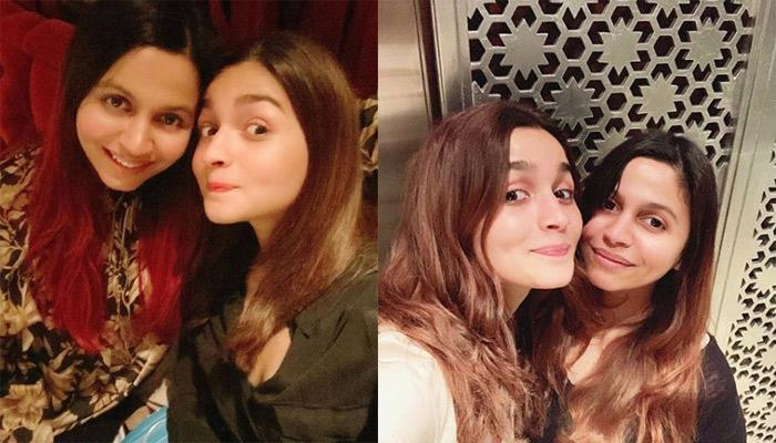 Alia Bhatt's Sister, Shaheen Bhatt Posts A Grumpy Pic Of Alia, Calls Her A Happy Little Flower