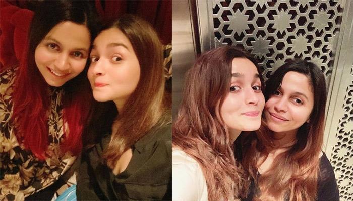 Alia Bhatt's Sister, Shaheen Bhatt Posts A Grumpy Pic Of Alia, Calls Her A Happy Little Flower
