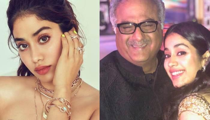 Janhvi Kapoor Shares Throwback Picture Of Father, Boney Kapoor, She And Sister, Khushi Clung To Him