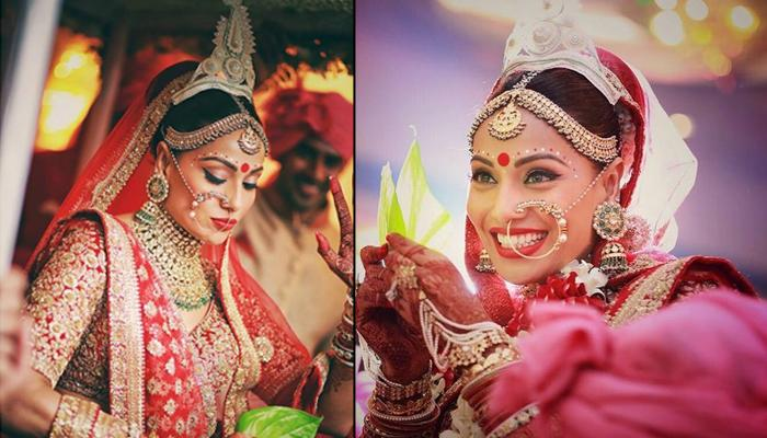 Bipasha Basu's 'Childhood And Grown-Up' Picture Dressed Up As A Bride Will Make You Say 'Oti Sundor'