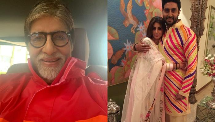 Amitabh Bachchan Shares A Throwback Picture, Shows Shweta And Abhishek Twining With Each Other