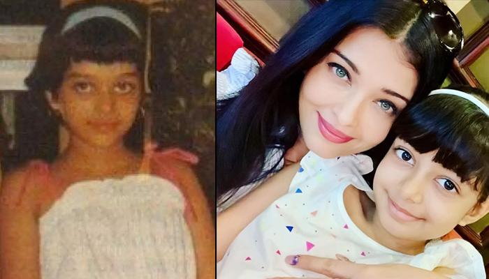 Aishwarya Rai Bachchan's Childhood Pictures Prove That Aaradhya Bachchan Is A Spitting Image Of Her