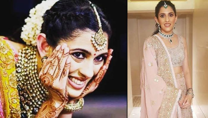 Shloka Mehta's Unique Choli With A Gorgeous Pink-Coloured Lehenga Is An Inspiration For Bridesmaids
