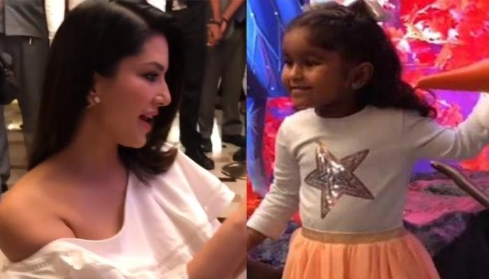 Sunny Leone Turns Paparazzi As She Clicks Her Daughter, Nisha's Cute Moment At 'Frozen 2' Premiere