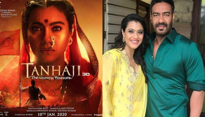 Kajol's First Look In 'Tanhaji' Has An Uncanny Resemblance With Her Maharashtrian Wedding Get-Up