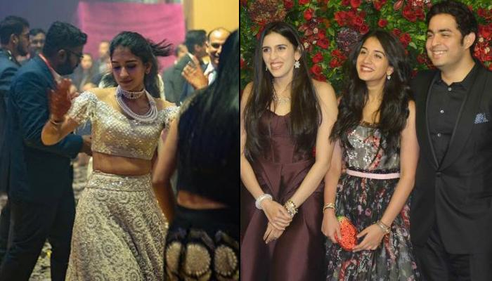 Radhika Merchant Repeats Her Lehenga From Akash-Shloka's Wedding For Another Pre-Wedding Bash