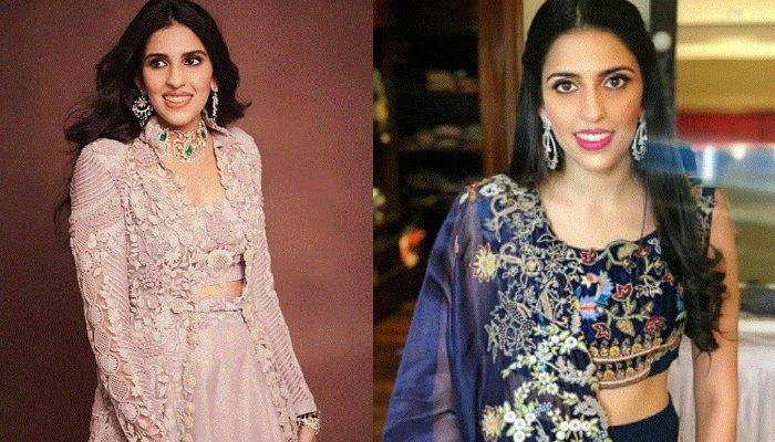 Shloka Mehta Wore A Short Red One Shoulder Dress And Diamonds, It's A Perfect Pick For A Date Night
