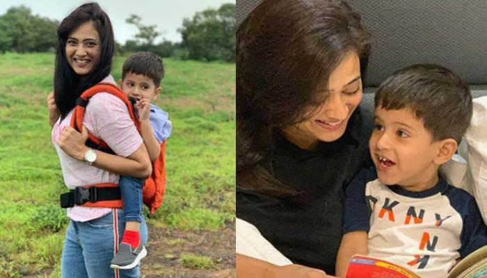 Shweta Tiwari Posts An Adorable Picture Of Son, Reyansh Kohli, Cuddled Up In His Mommy's Arms