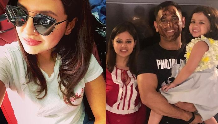 Sakshi Singh Dhoni Shares A Family Picture With Husband, MS Dhoni From Her Birthday Celebration
