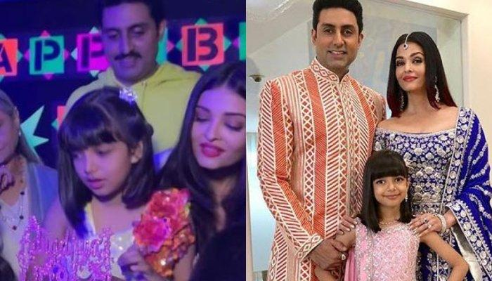 Aishwarya Rai Bachchan Gets Trolled For Putting Makeup On Aaradhya Bachchan On Her Birthday