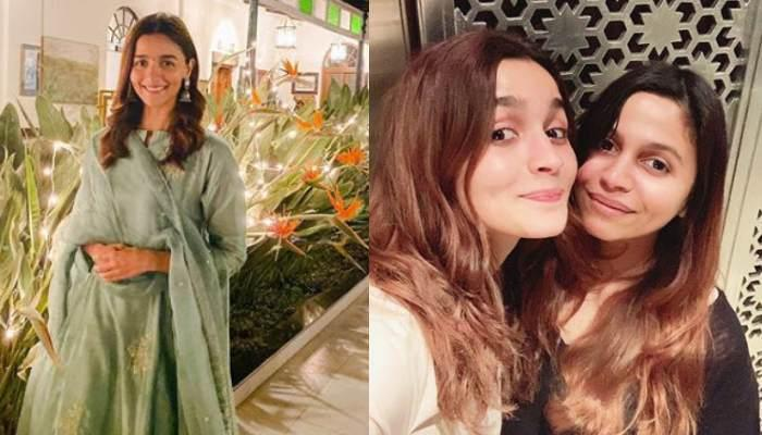 Alia Bhatt Posts A Glimpse Of Sister, Shaheen Bhatt, Looks Adorable While Peeping From Behind