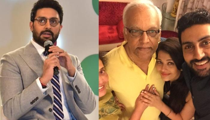 Abhishek Bachchan Shares A Birthday Wish For His Late Father-In-Law, Krishnaraj Rai