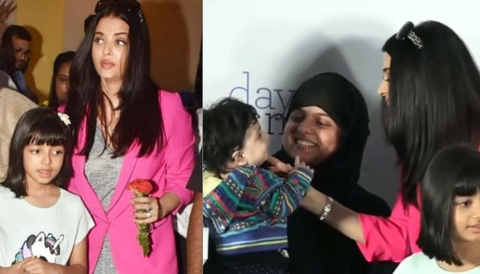 Aishwarya Rai Bachchan Plays With A Cute Baby At A Charity Event Hosted In The Memory Of Her Father