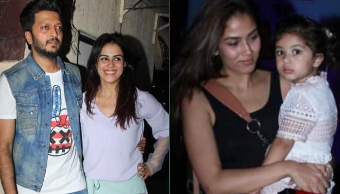 Genelia And Riteish Deshmukh Celebrate Riaan's Birthday, Aaradhya, Misha, Adira Attend The Bash