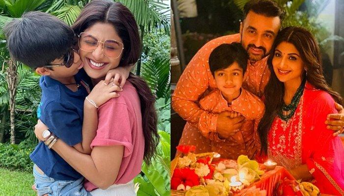 Shilpa Shetty's Son Viaan's 'Mere Paas Maa Hain' Dialogue Proves That Filmygiri Runs In His Blood