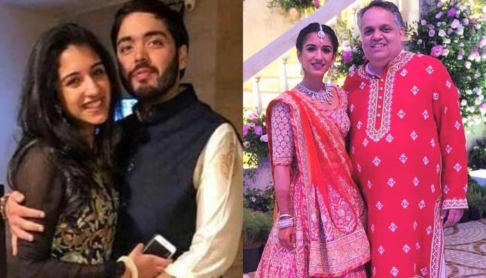 Radhika Merchant Looks Pretty In Pink Lehenga From Designer Duo, Abu Jani And Sandeep Khosla