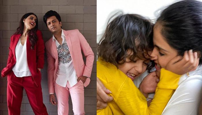 Genelia Deshmukh And Ritesh Deshmukh Share Heartfelt Birthday Wishes For Their First Born, Riaan