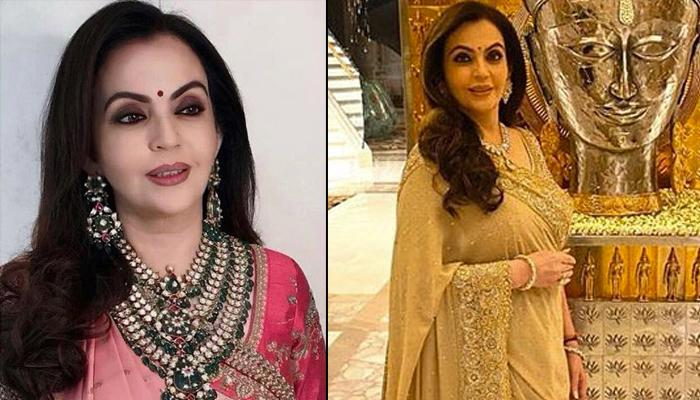 Nita Ambani's 'Burano' Ghagra By AJSK Exudes Royalty, It Is A Perfect Pick For This Wedding Season