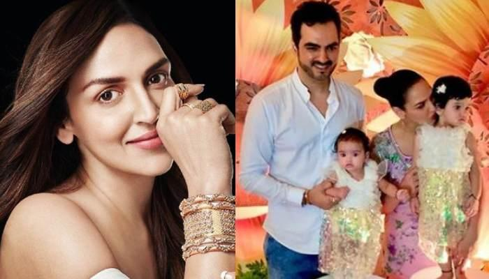 Esha Deol Shares A Picture Of Daughter, Miraya, Enjoying A Moment With Daddy, Bharat Takhtani