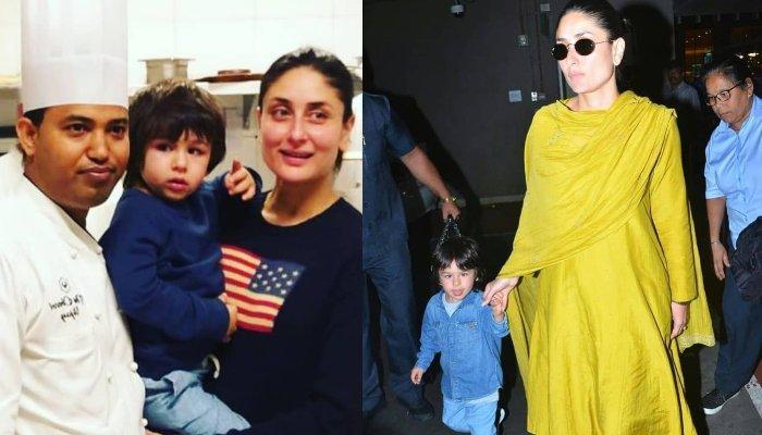 Taimur Ali Khan Turns Baker With Mum, Kareena Kapoor Khan, Both Enjoy Cooking Lessons Together