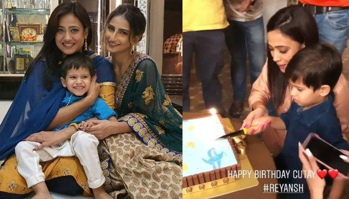Shweta Tiwari's Son, Reyansh Celebrates His 3rd Birthday On The Sets With Mom And Sister, Palak