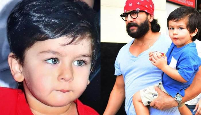 Saif Ali Khan's Unseen Childhood Picture Proves A Striking Resemblance With Son, Taimur Ali Khan