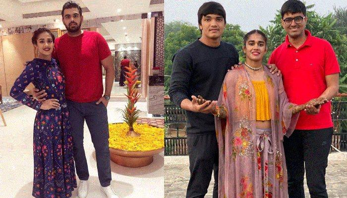 Babita Phogat Looks Ethereal In An Indo-Western Attire On Her 'Mehendi' Ceremony [Pics Inside]