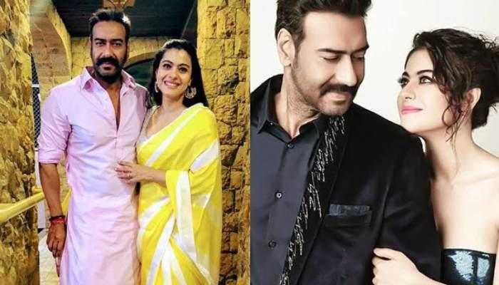 Kajol And Her Hubby, Ajay Devgn Sizzle On The Cover Of A Magazine, Give Major Couple Goals