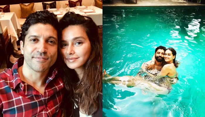 Farhan Akhtar Posts His First Official Love Post For Shibani Dandekar, Calls Her 'Beautiful Star'