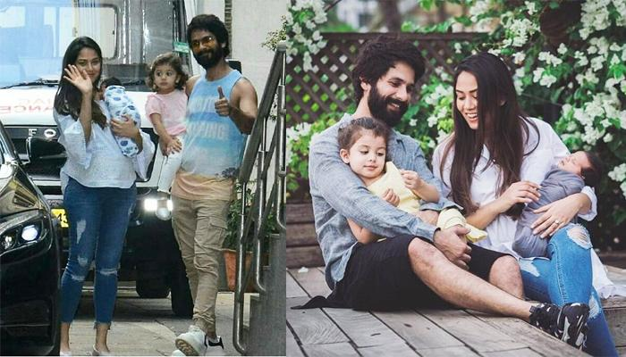 Mira Rajput Kapoor Shares First Family Pic With Shahid Kapoor, Misha Kapoor And Zain Kapoor