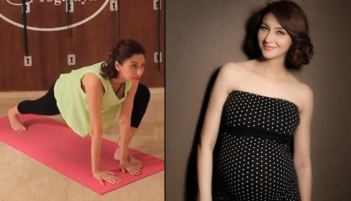 Saumya Tandon Performing 'Modified Surya Namaskar For Pregnant Women' Are Pregnancy Fitness Goals
