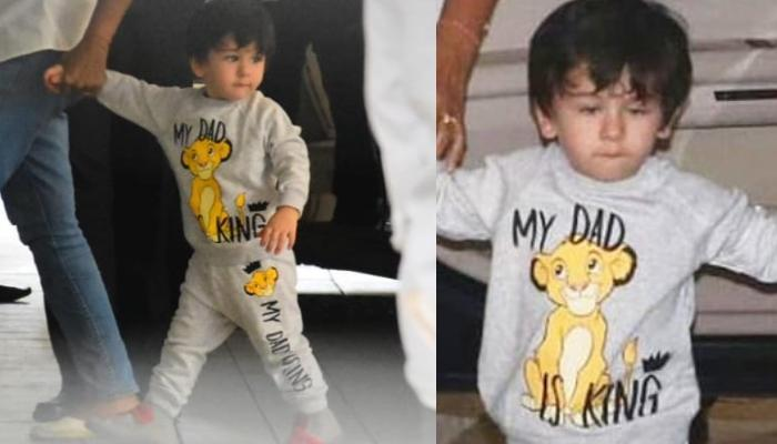 Taimur Ali Khan Roars To The World That His Dad Is A King, And We Agree With Our Little Simmba