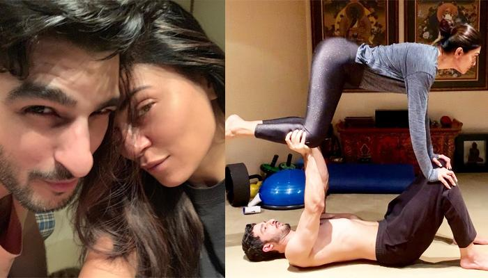 Sushmita Sen And Rohman Shawl's Couple Yoga Pose Is A 'Balance Of Trust And Mutual Respect'