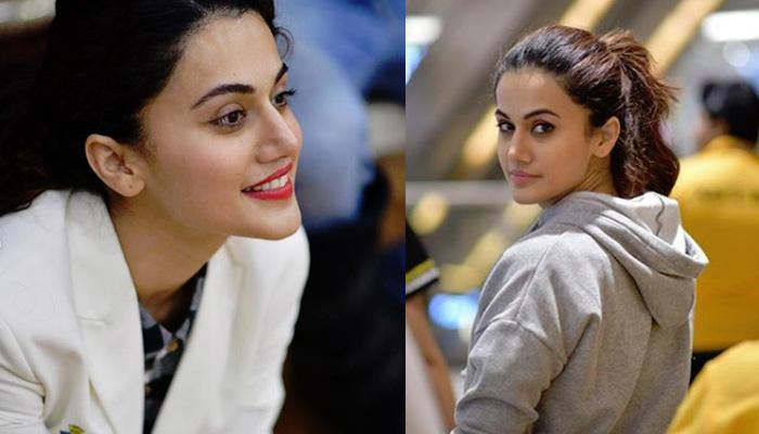 Taapsee Pannu's First Boyfriend Left Her For His 10th Board Exams, This Is How She Reacted