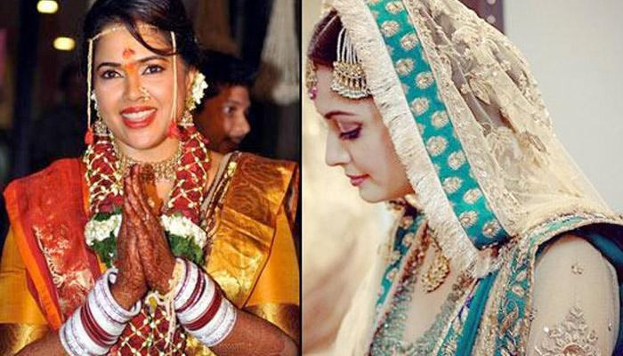 Most Stylish Wedding Looks Of Stunning Bollywood Brides Of 2014