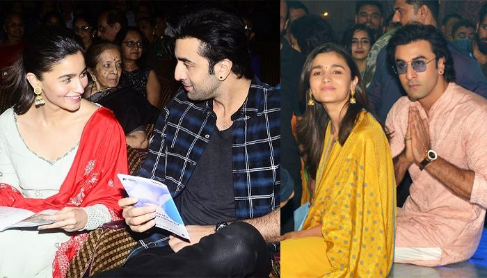 Alia Bhatt And Ranbir Kapoor's New Photo From The Sets Of 'Brahmastra' Is All About A Happy Selfie