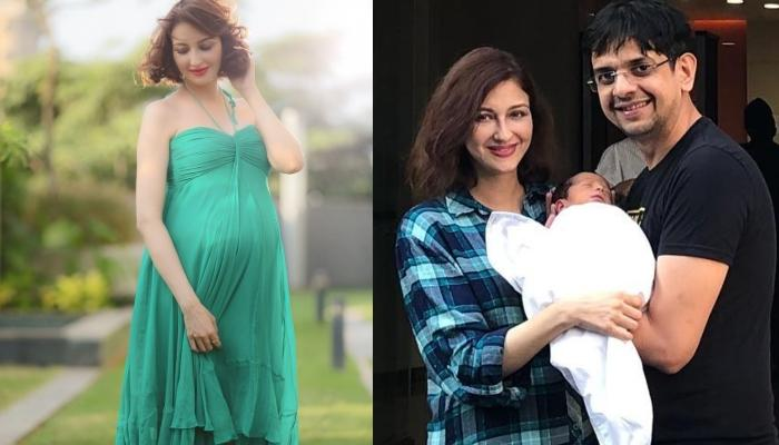 Saumya Tandon Of 'Bhabiji Ghar Par Hai' Fame Shares A First Picture Of Her Baby Boy