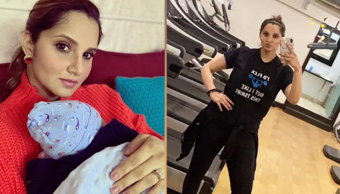 New Mom Sania Mirza Starts Working Out, 3 Months After Delivering Izhaan Mirza Malik, Pics Inside