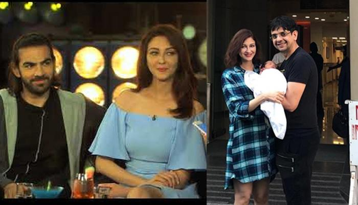 Actor Karan Grover Shares A Dreamy Selfie With Saumya Tandon And Her Newborn Son, Pic Inside