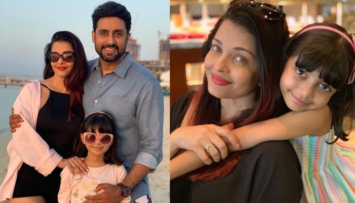 Abhishek Bachchan Shares A Super-Adorable Picture Of Aishwarya Rai Bachchan And Daughter Aaradhya