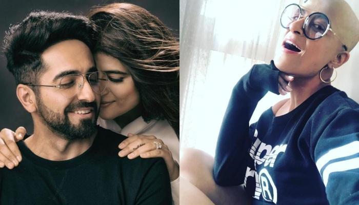 Ayushmann Khurrana Gave Pleasant Surprise To Tahira Kashyap On Her B'Day Despite Having Limited Time