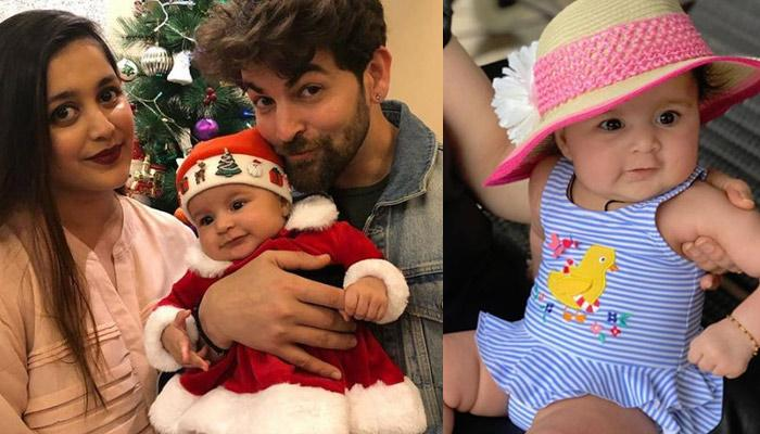 Neil Nitin Mukesh's 4-Month-Old Daughter Nurvi Visits Him On Set, She Poses For The Paps [Pics]