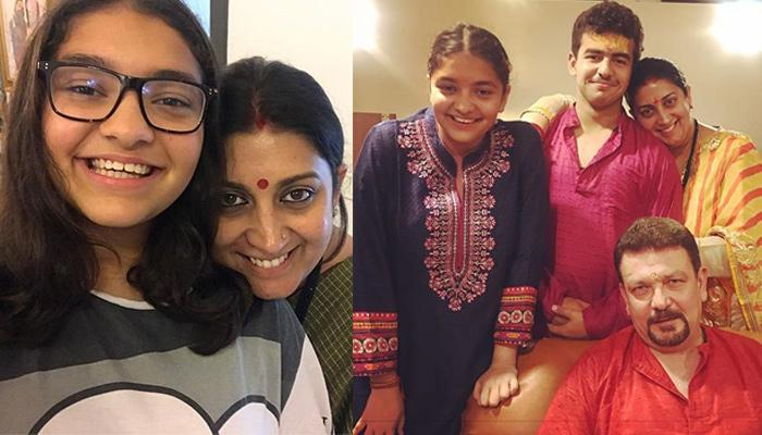 Smriti Irani's Emotional Note For Daughter, Zoish Irani On Building A New Life Is Every Mother Ever