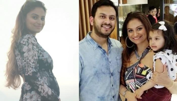 Dimpy Ganguly Shares The News Of Her Second Pregnancy, The Family Of Three Is Soon Going To Be Four