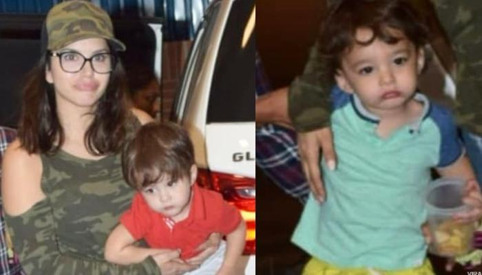 Sunny Leone Goes On A Fun Outing With Her Twin Baby Boys, Asher Weber And Noah Weber