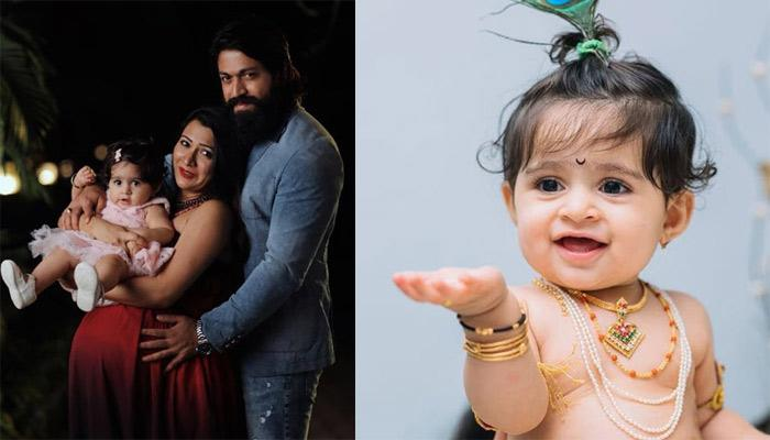 K.G.F. Star Yash And His Wife, Radhika Pandit Wishes Their Lovely Angel, Ayra As She Turns One