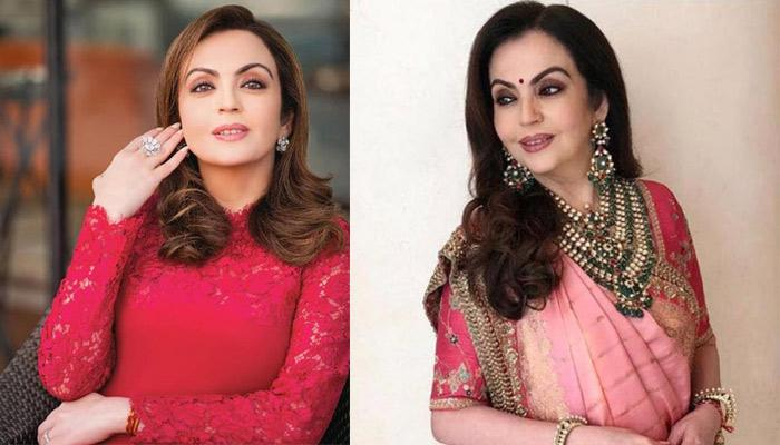 Nita Ambani Stuns In A Perfect Gota-Patti Lehenga,  A Perfect Pick For The Wedding Season