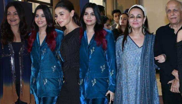 Alia Bhatt And Half-Sister, Pooja Bhatt Attend Shaheen Bhatt's Book Launch With The Family